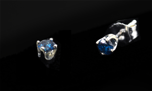 Blue-Diamond-Studs