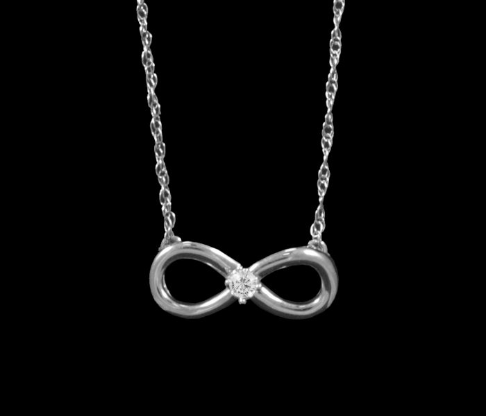 white-gold-infinity-necklace